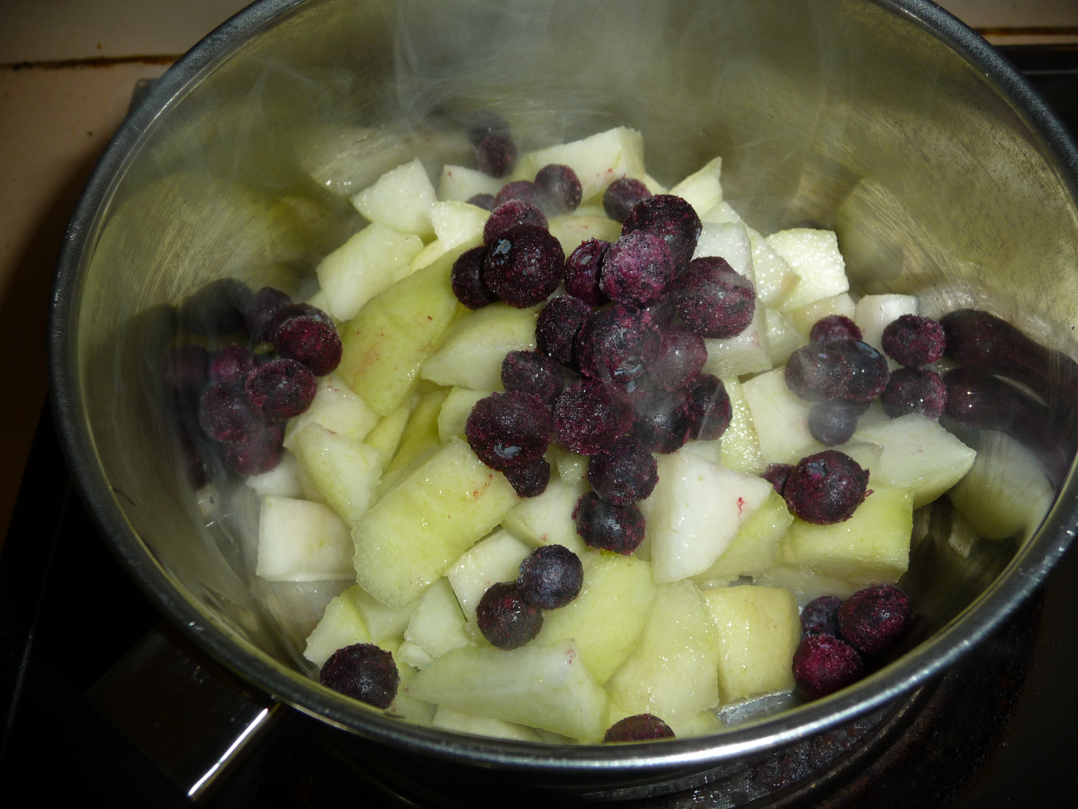 Freeze Pears Baby Food