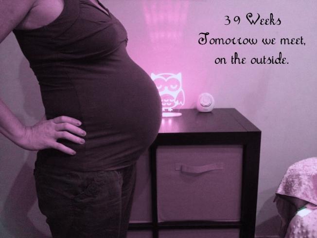 39 week bump2