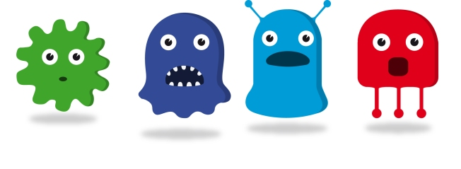 Don't let this picture fool you.  Germs are not cute or friendly and must be avoided before big surgery!