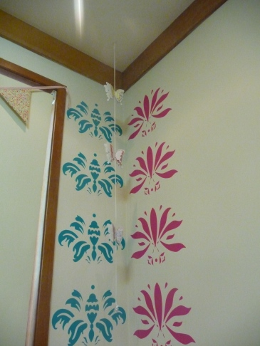 Wall stickers and butterflies