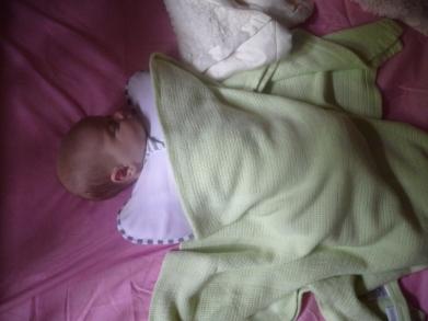Baby #2 sleeping